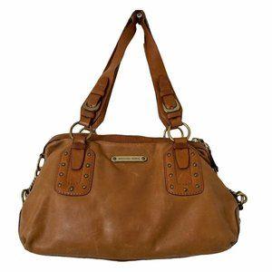 Michael Kors Shoulder Bag Brown Leather